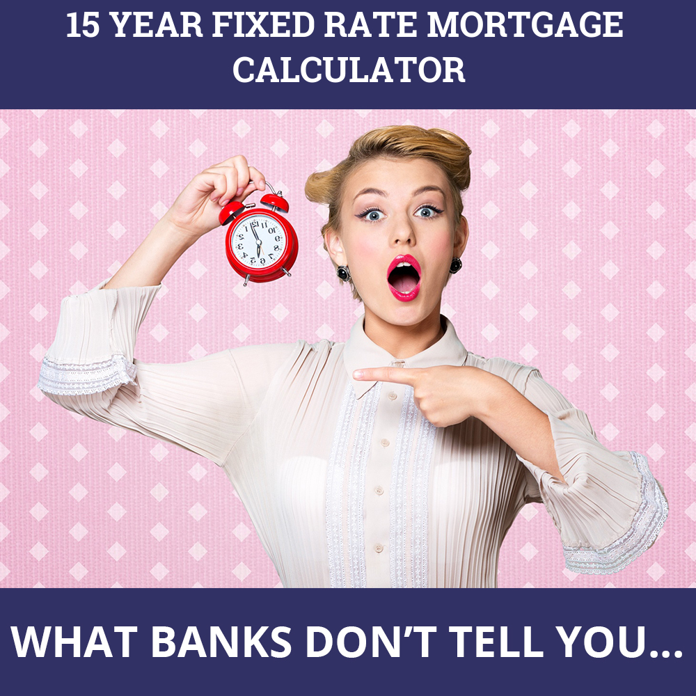 15 Year Fixed Rate Mortgage Calculator
