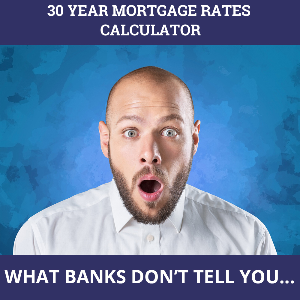 30 Year Mortgage Rates Calculator