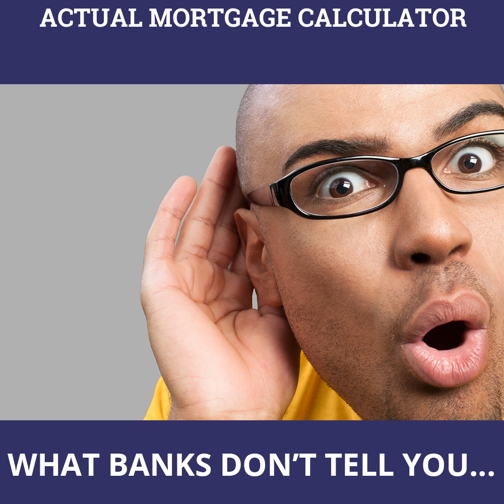 Actual Mortgage Calculator