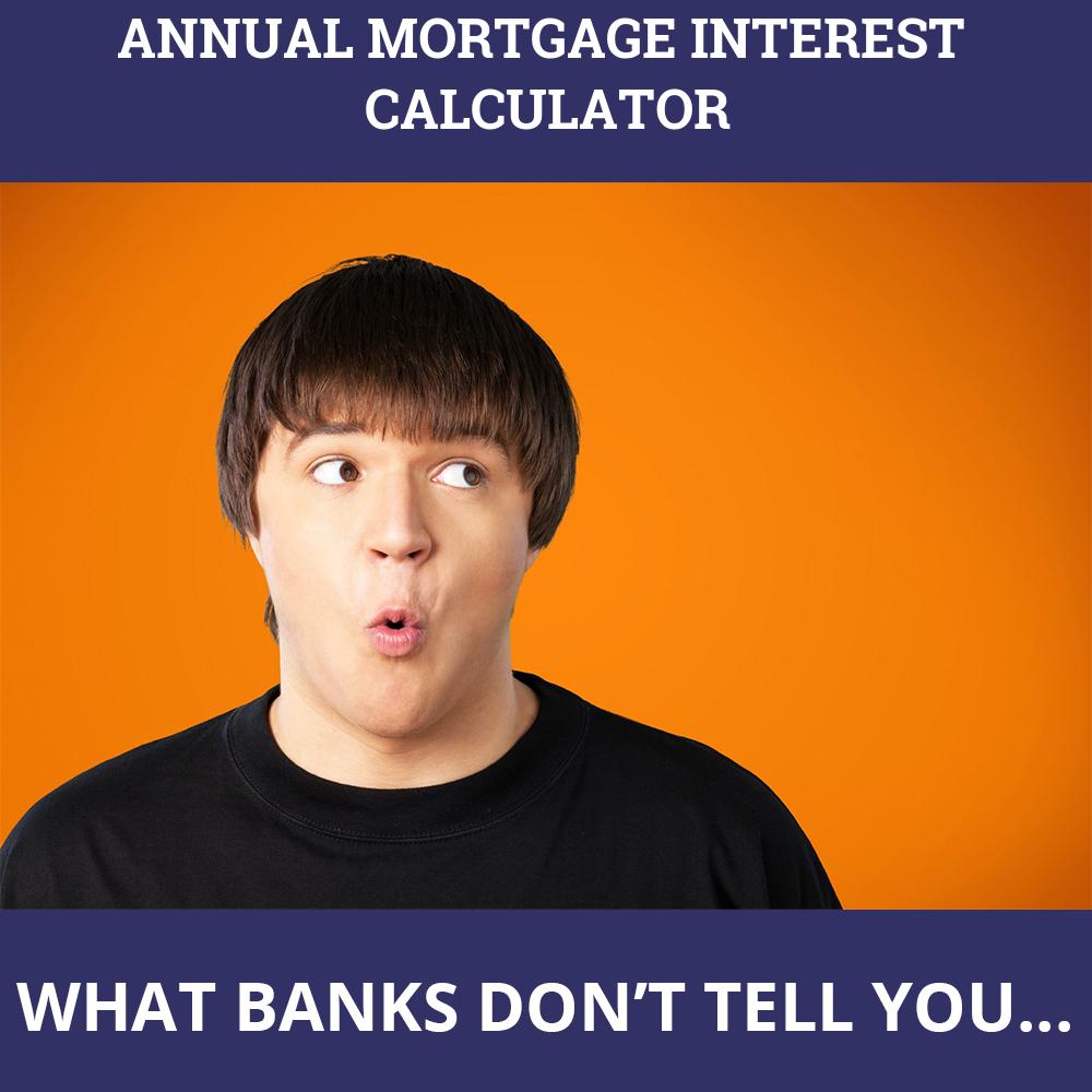 Annual Mortgage Interest Calculator