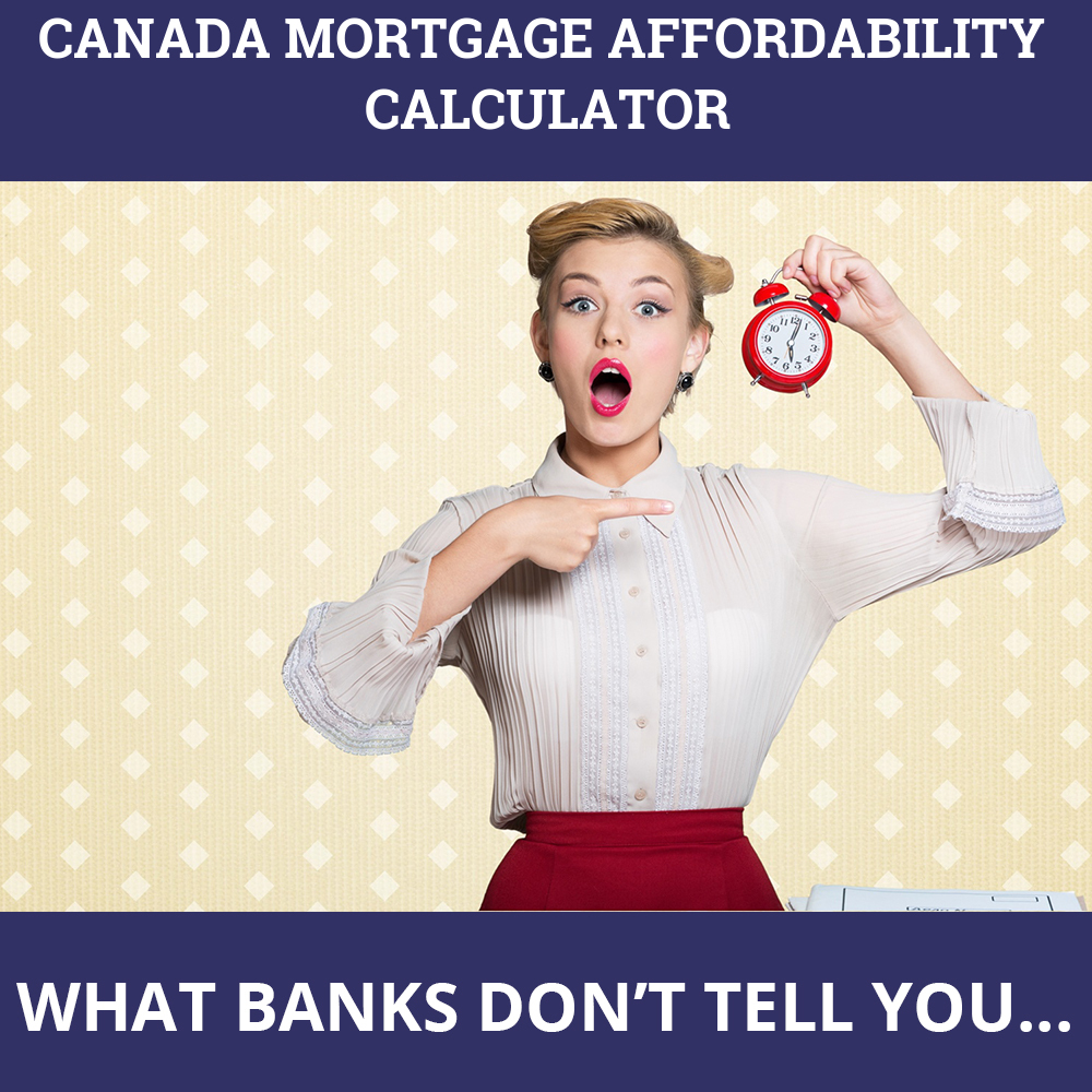 Canada Mortgage Affordability Calculator