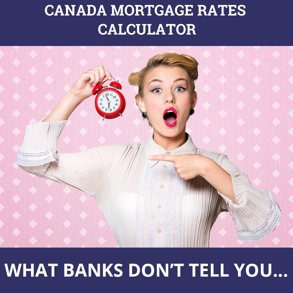 Canada Mortgage Rates Calculator