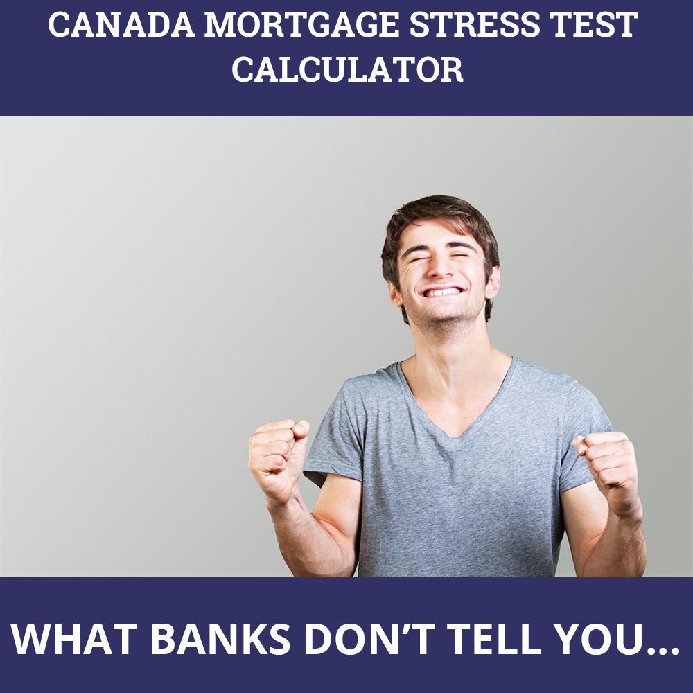 Canada Mortgage Stress Test Calculator