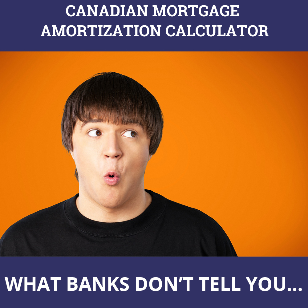 Canadian Mortgage Amortization Calculator