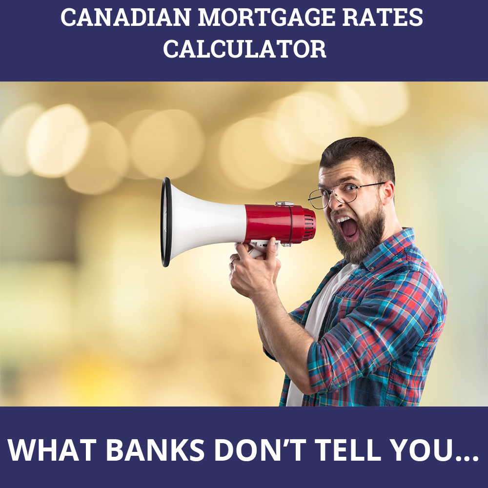 Canadian Mortgage Rates Calculator