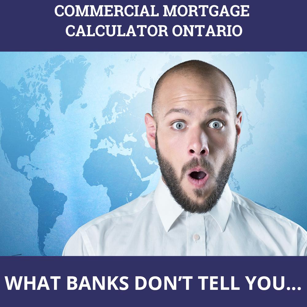 Commercial Mortgage Calculator Ontario