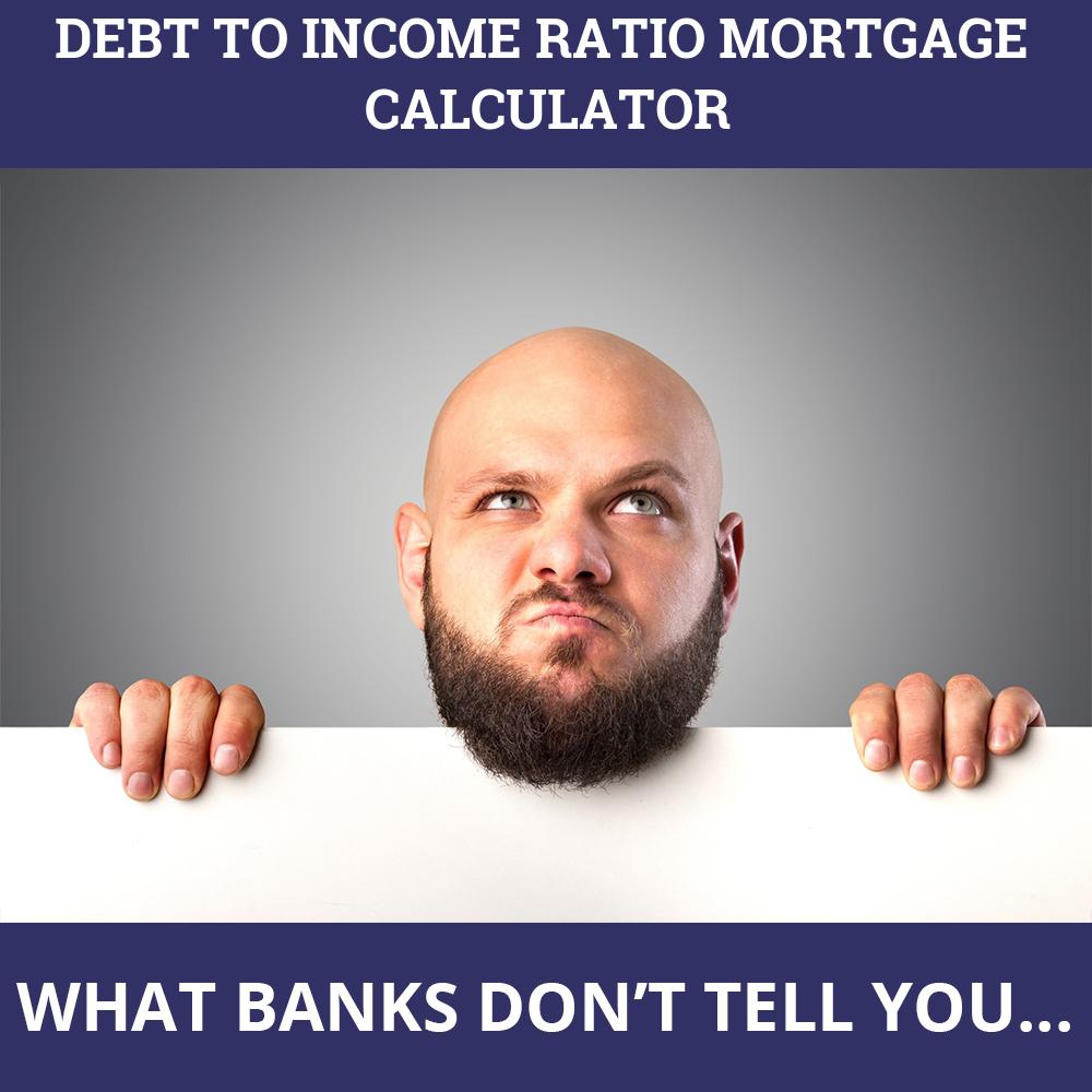 Debt To Income Ratio Mortgage Calculator