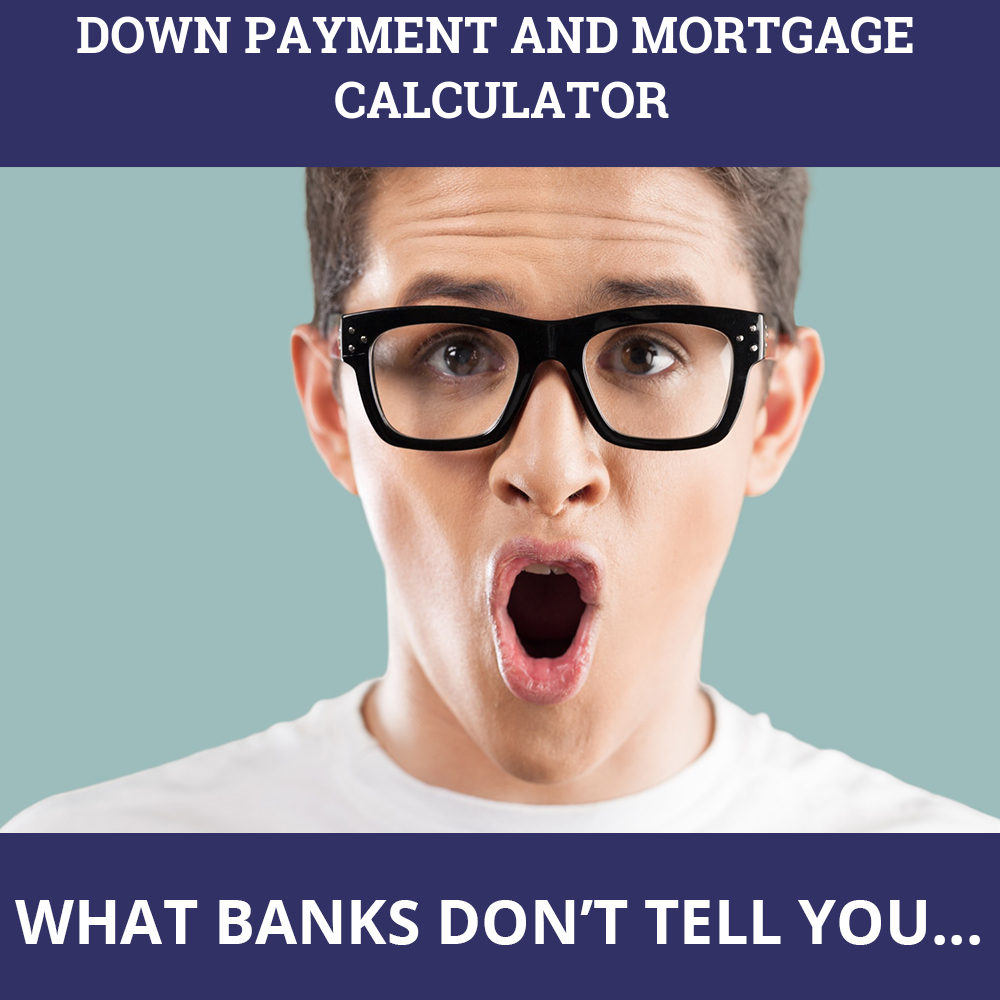 Down Payment And Mortgage Calculator