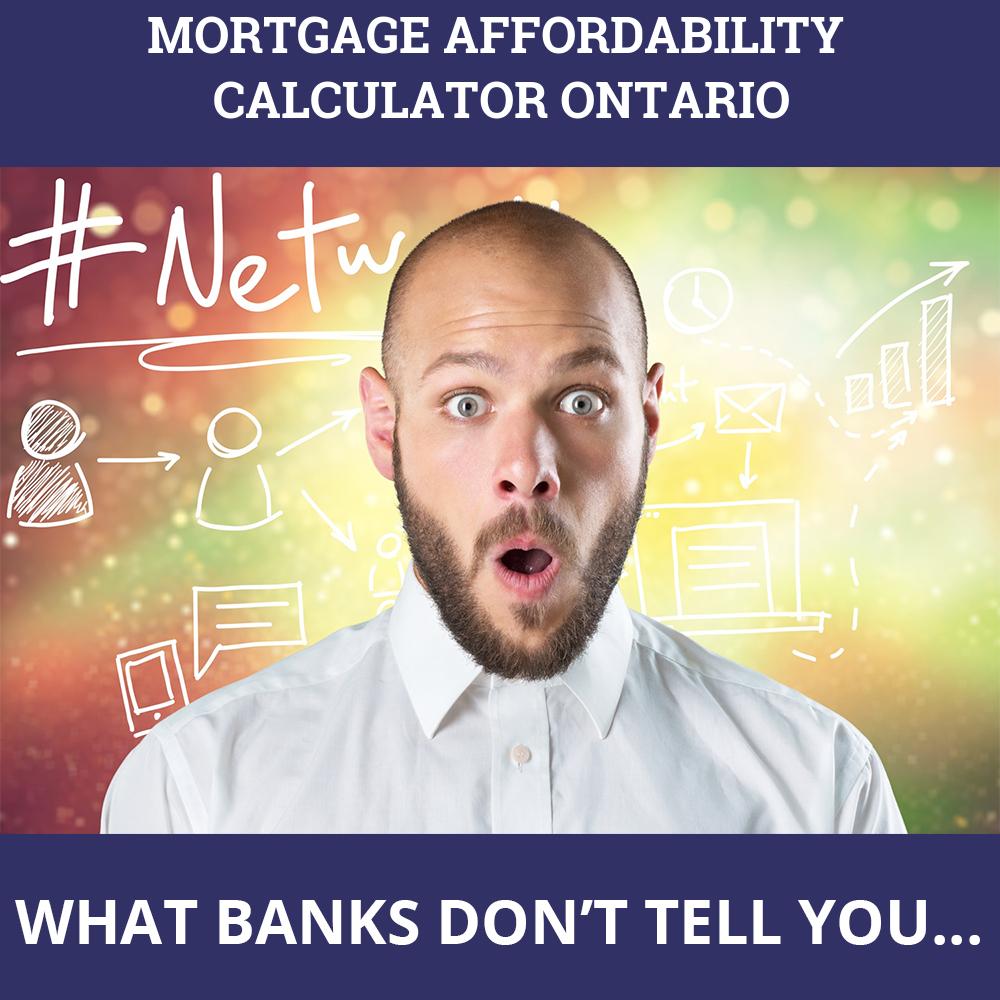 Mortgage Affordability Calculator Ontario