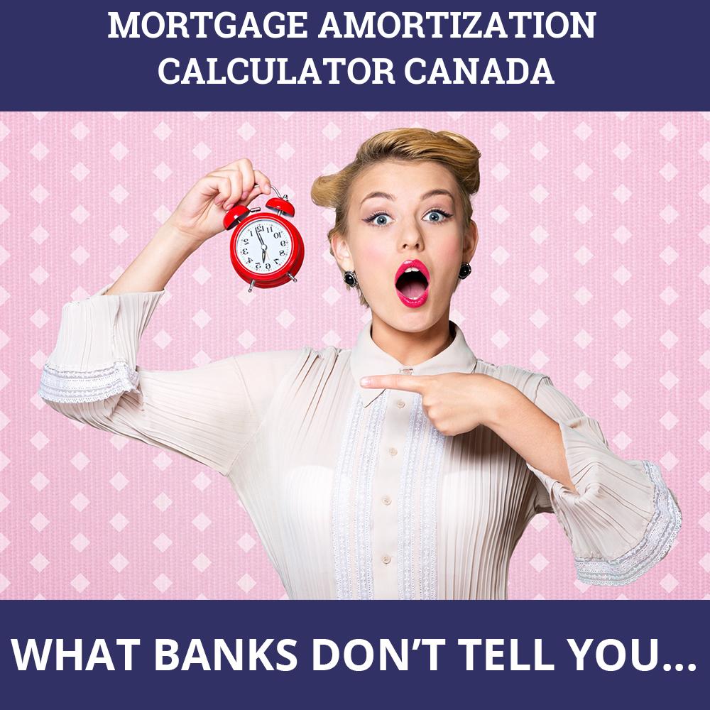 Mortgage Amortization Calculator Canada