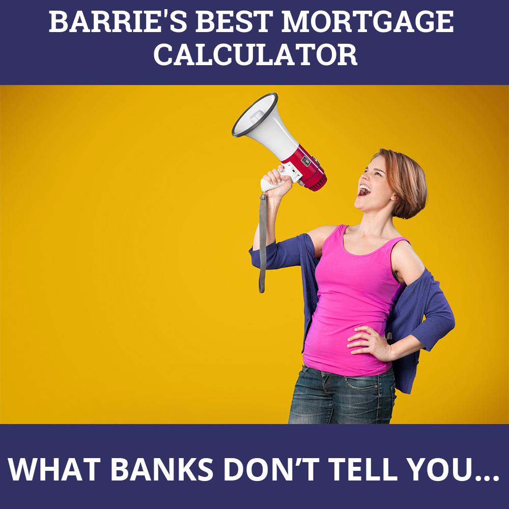 Mortgage Calculator Barrie ON