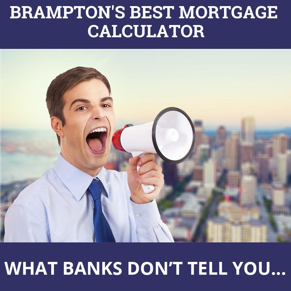 Mortgage Calculator Brampton ON