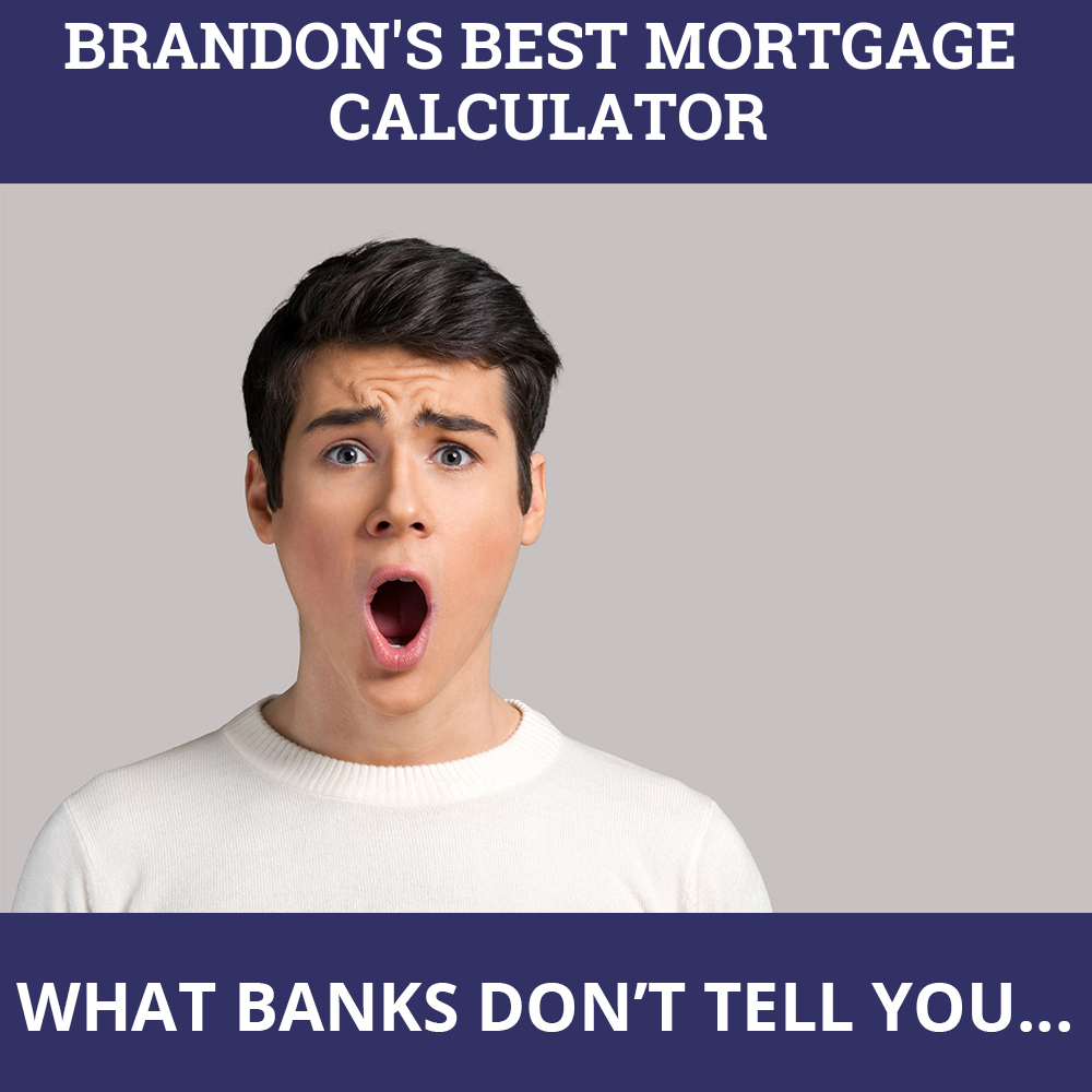 Mortgage Calculator Brandon MB