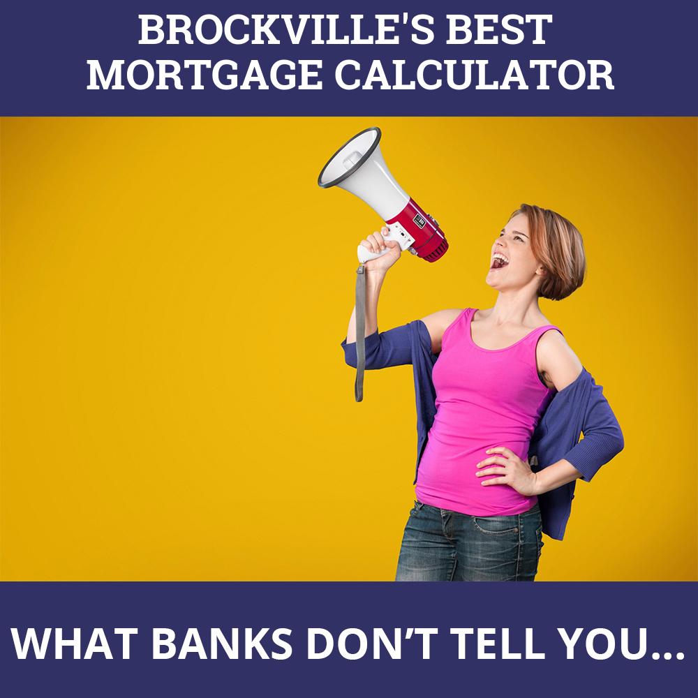 Mortgage Calculator Brockville ON