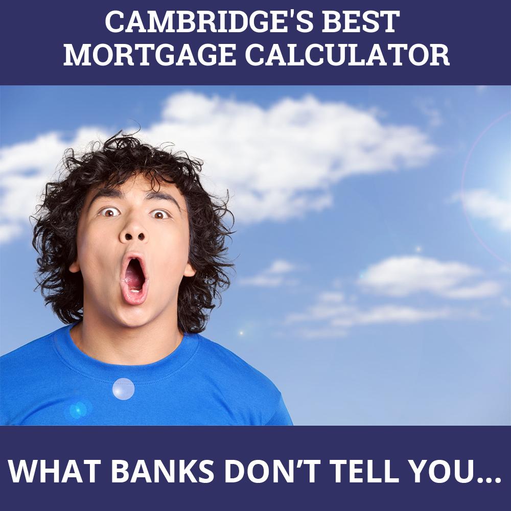 Mortgage Calculator Cambridge ON