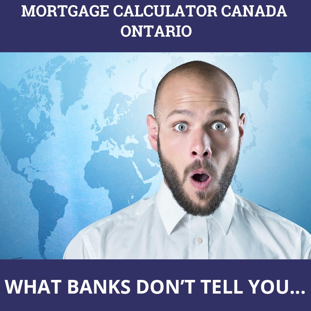 Mortgage Calculator Canada Ontario