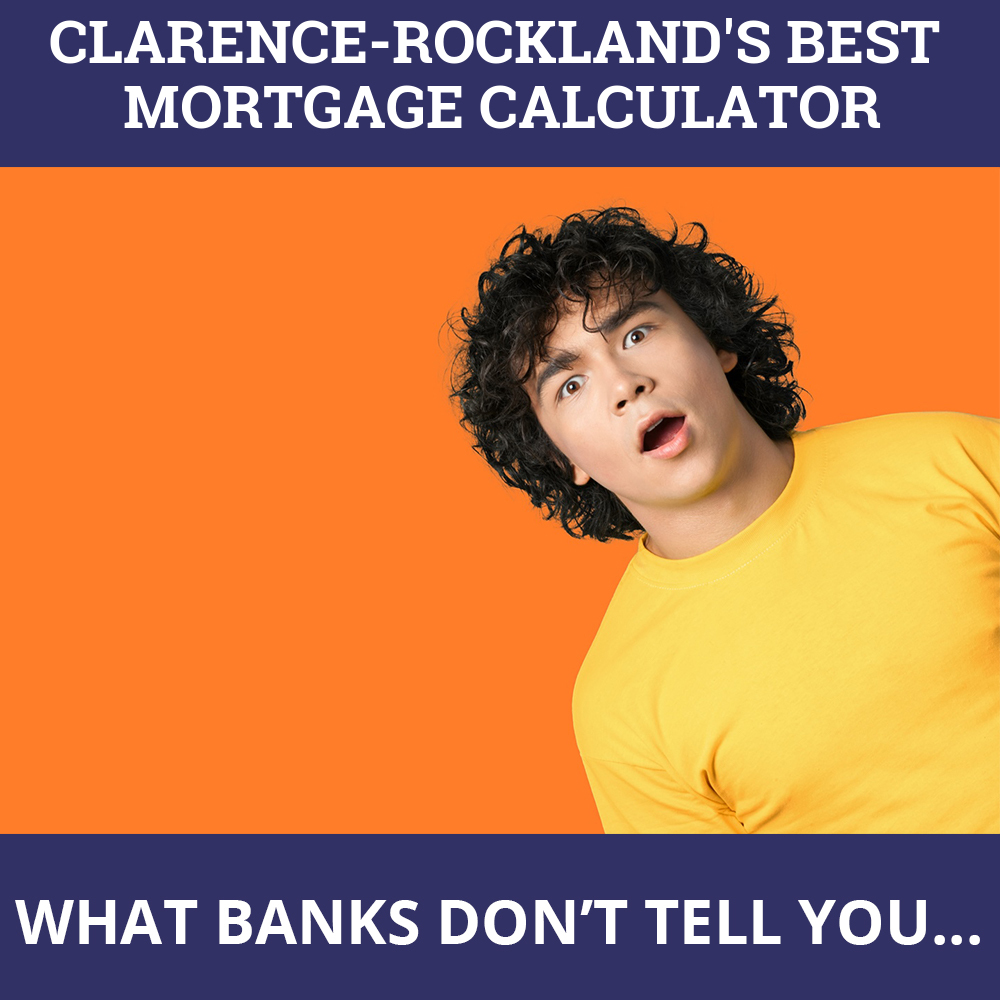 Mortgage Calculator Clarence-Rockland ON