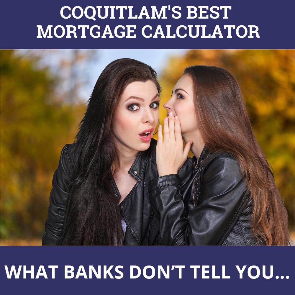 Mortgage Calculator Coquitlam BC