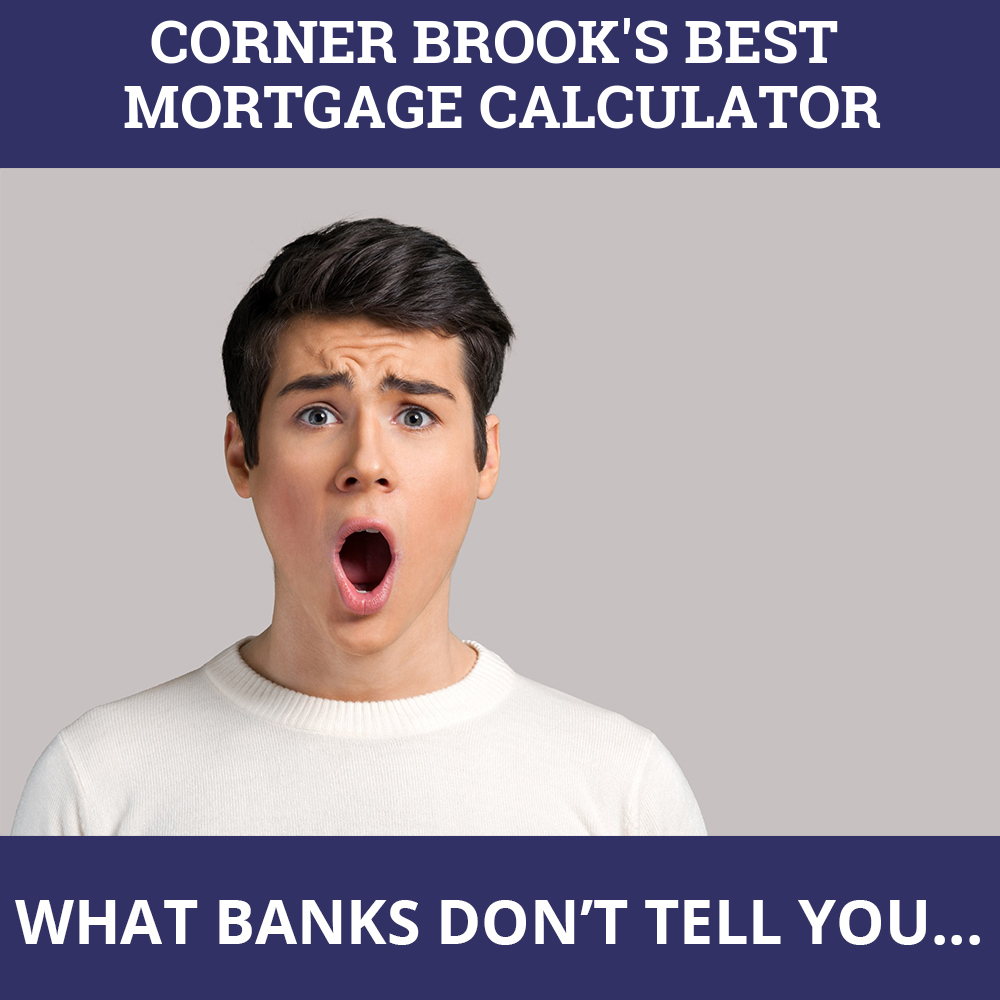 Mortgage Calculator Corner Brook NL
