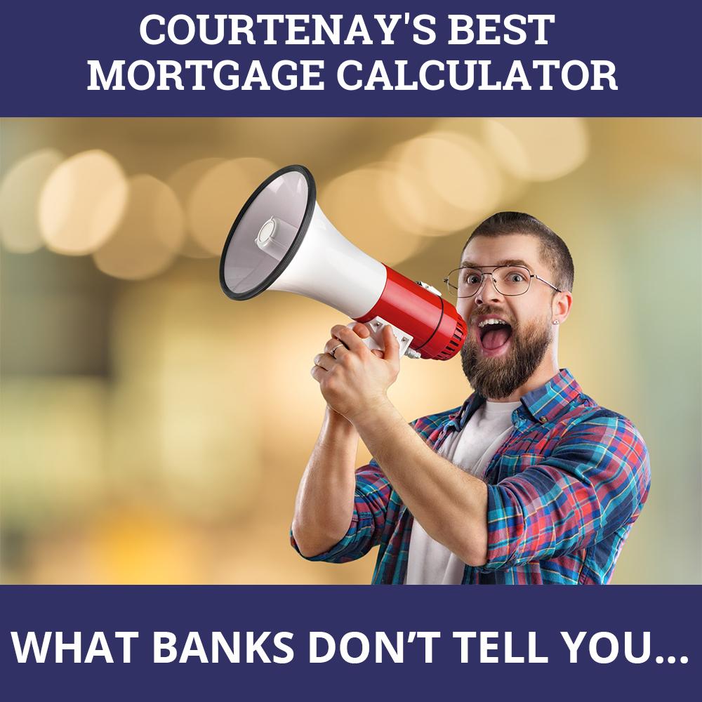 Mortgage Calculator Courtenay BC