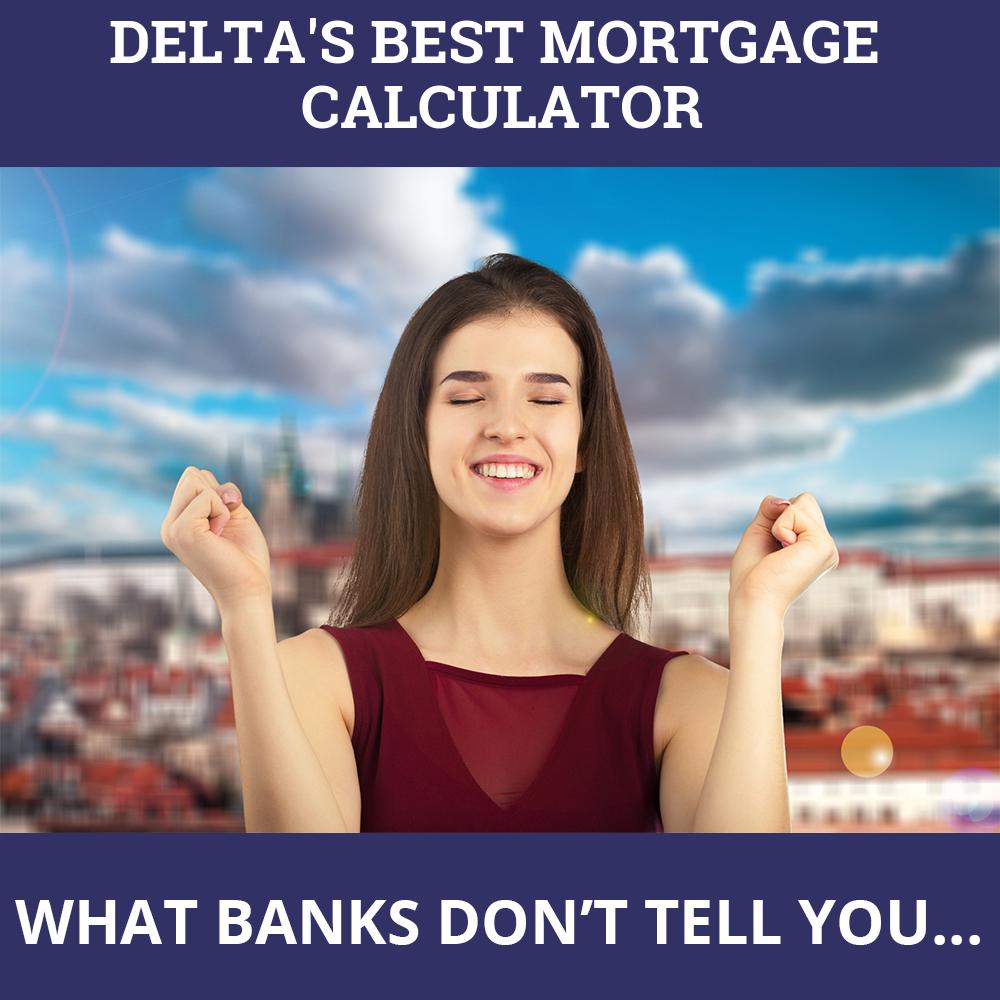 Mortgage Calculator Delta BC
