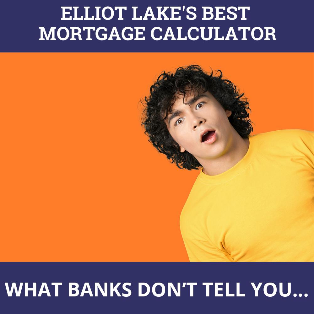 Mortgage Calculator Elliot Lake ON