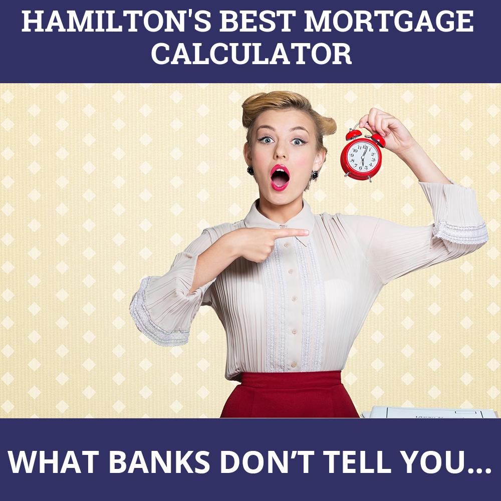 Mortgage Calculator Hamilton ON