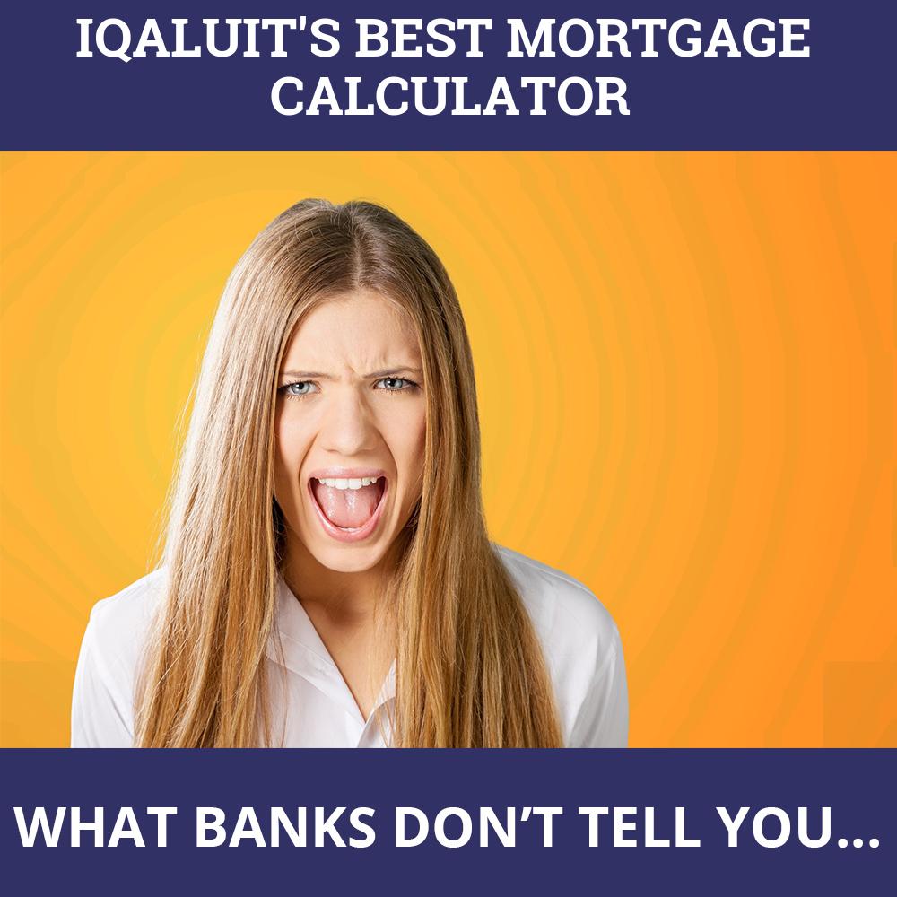 Mortgage Calculator Iqaluit NU