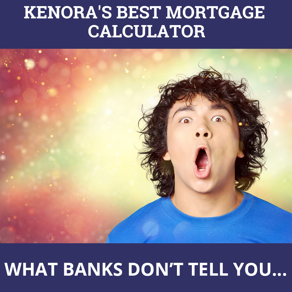 Mortgage Calculator Kenora ON