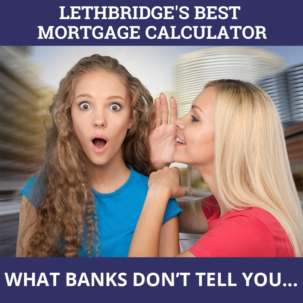 Mortgage Calculator Lethbridge AB