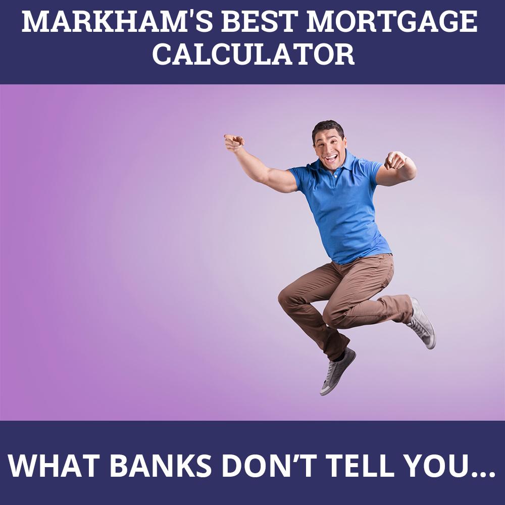 Mortgage Calculator Markham ON