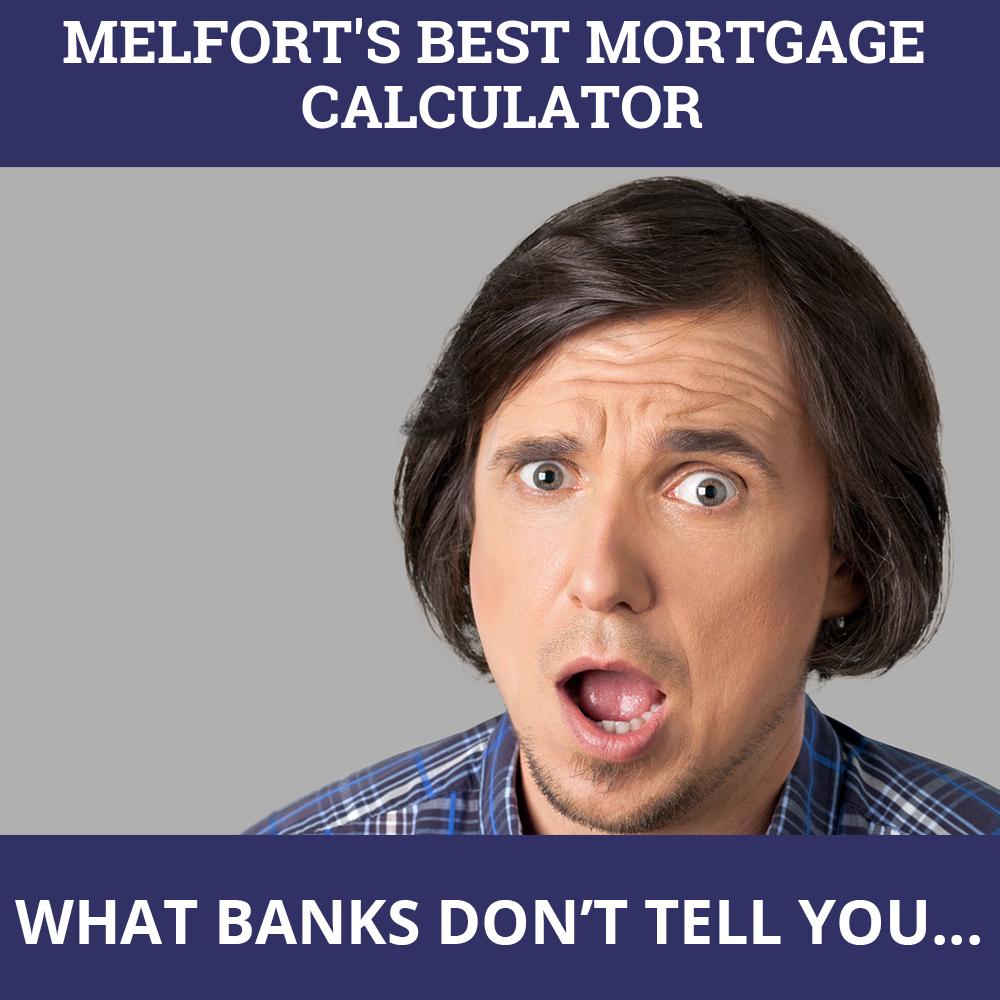 Mortgage Calculator Melfort SK