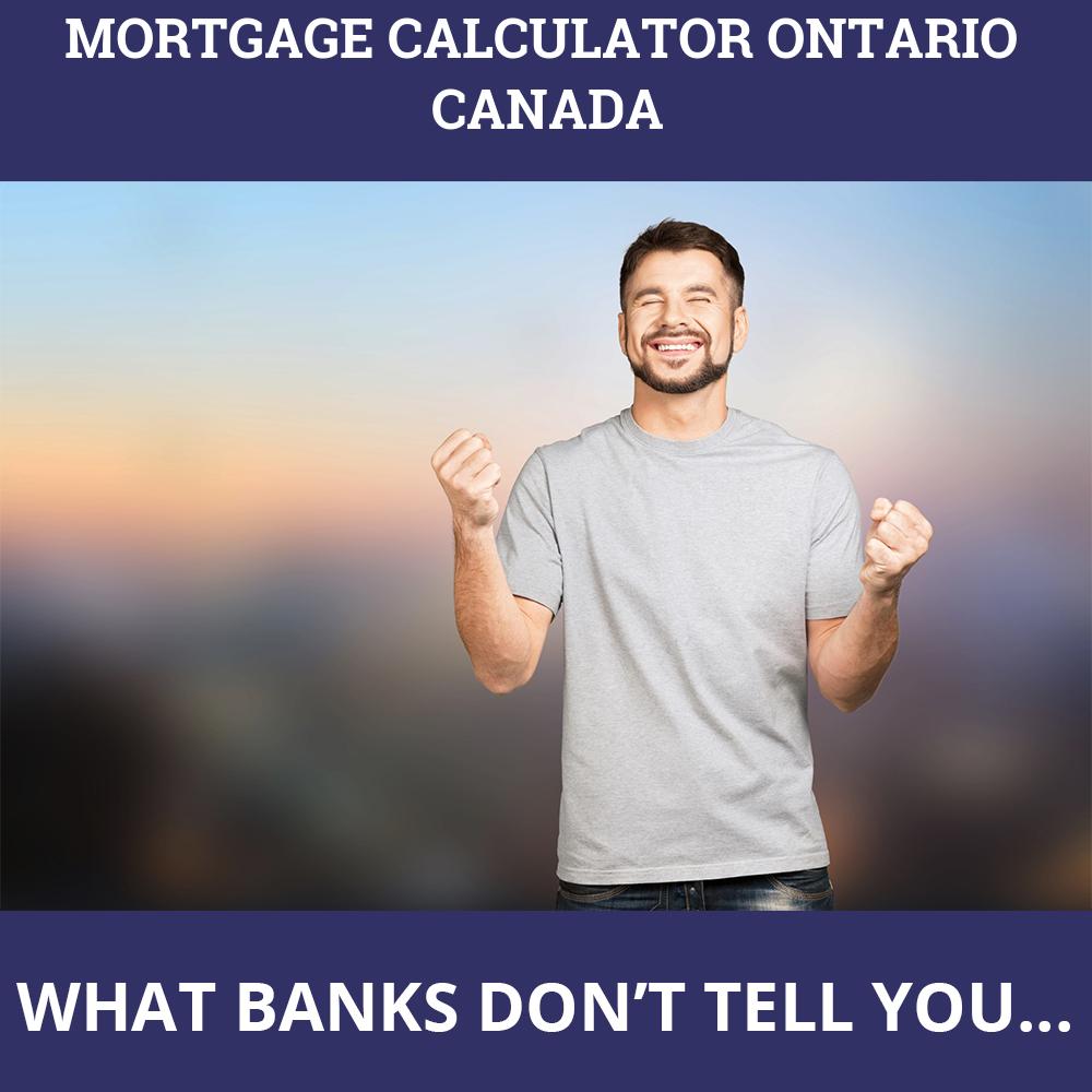 Mortgage Calculator Ontario Canada