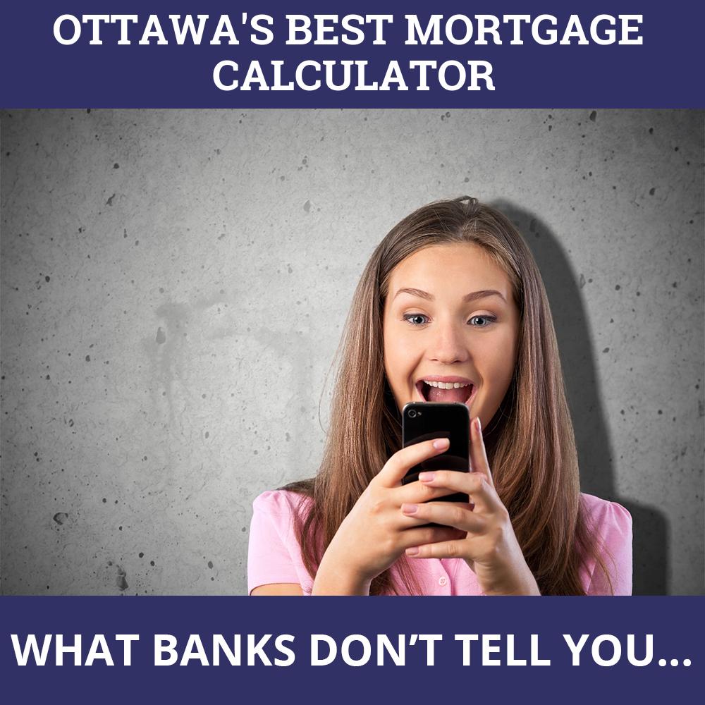 Mortgage Calculator Ottawa ON