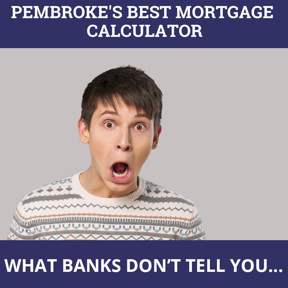 Mortgage Calculator Pembroke ON