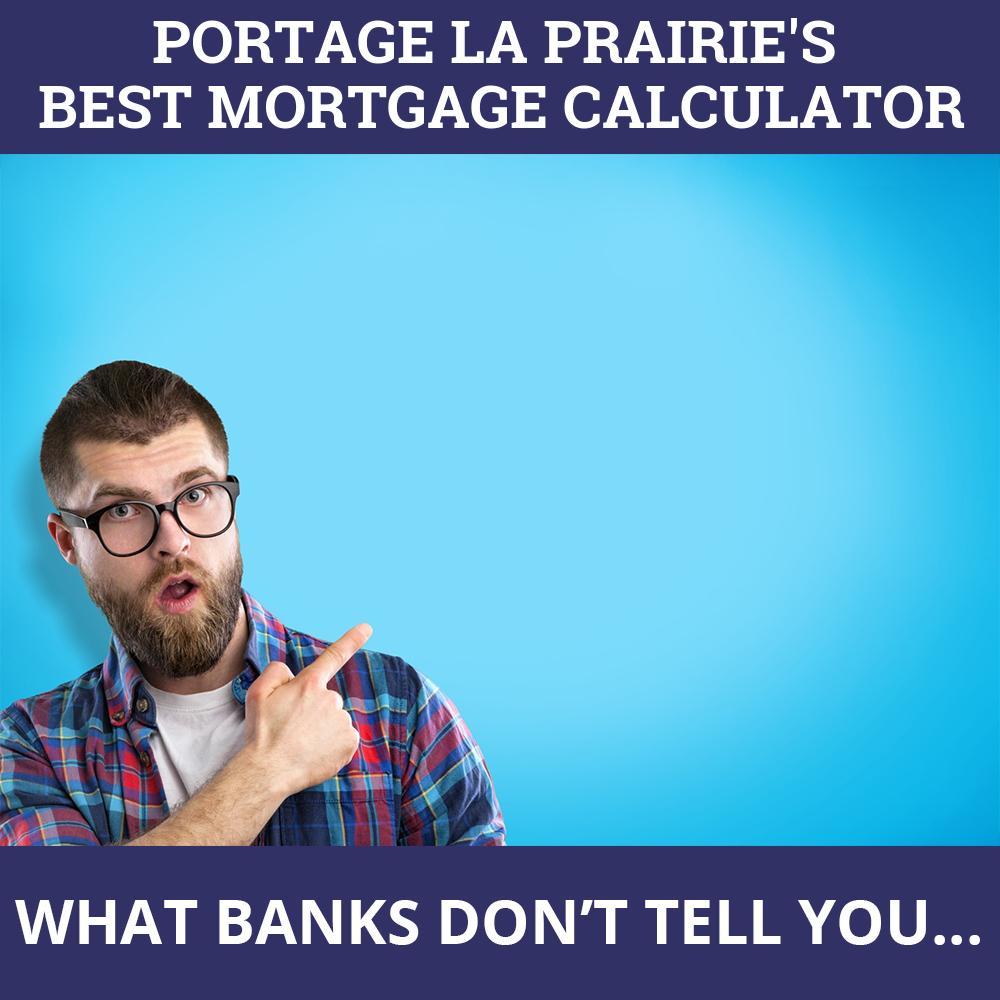 Mortgage Calculator Portage la Prairie MB