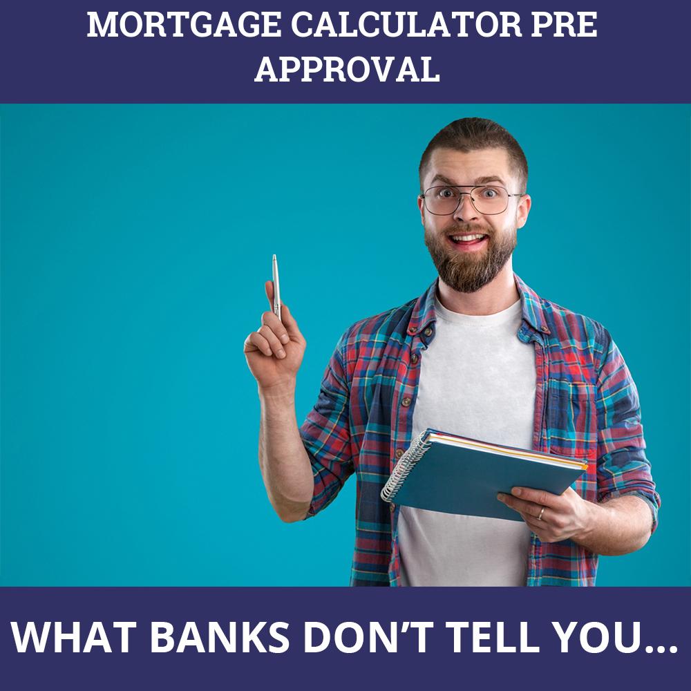 Mortgage Calculator Pre Approval