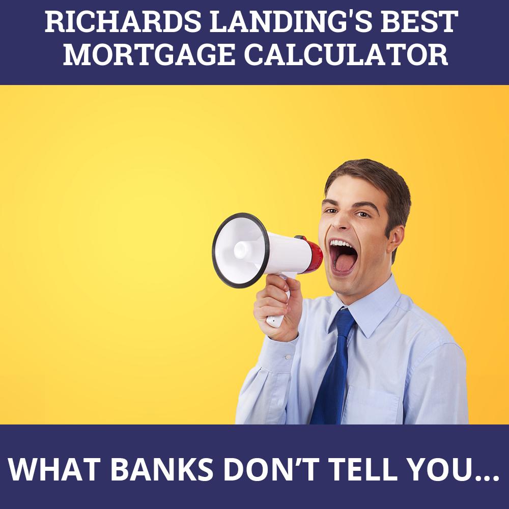 Mortgage Calculator Richards Landing ON