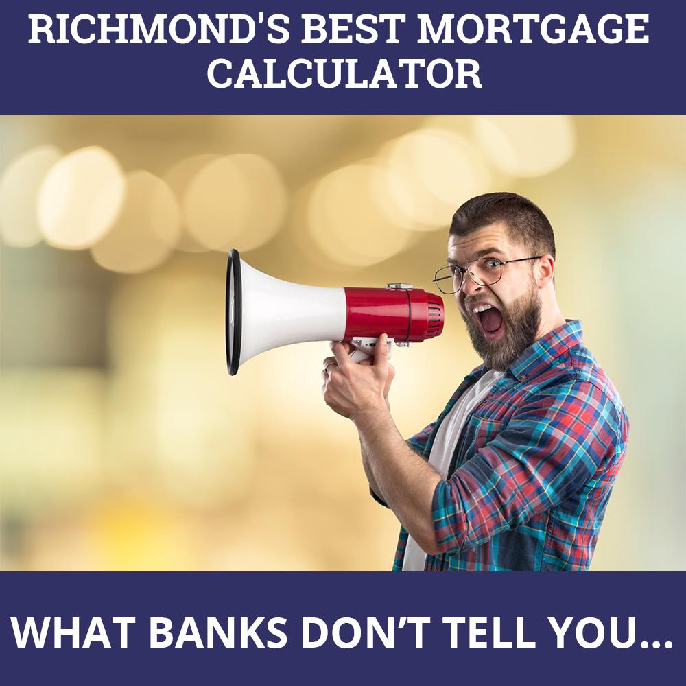 Mortgage Calculator Richmond BC
