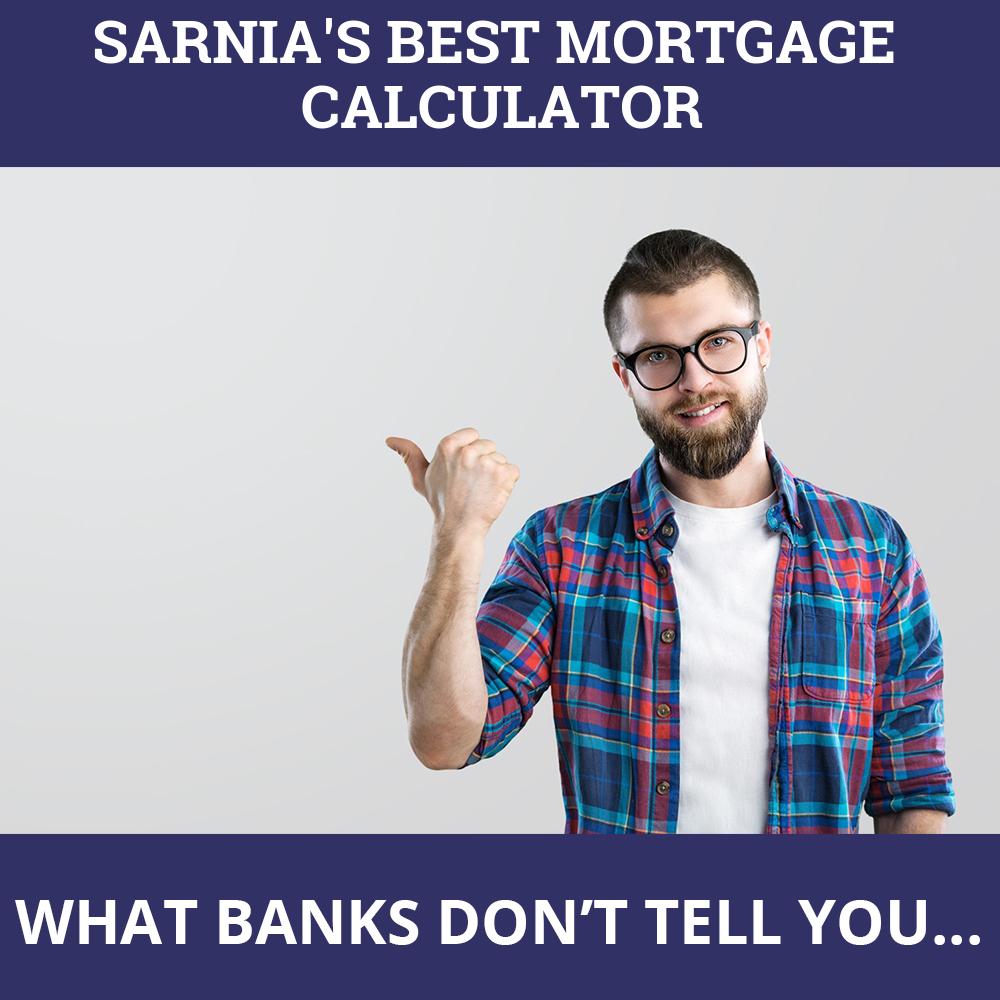 Mortgage Calculator Sarnia ON