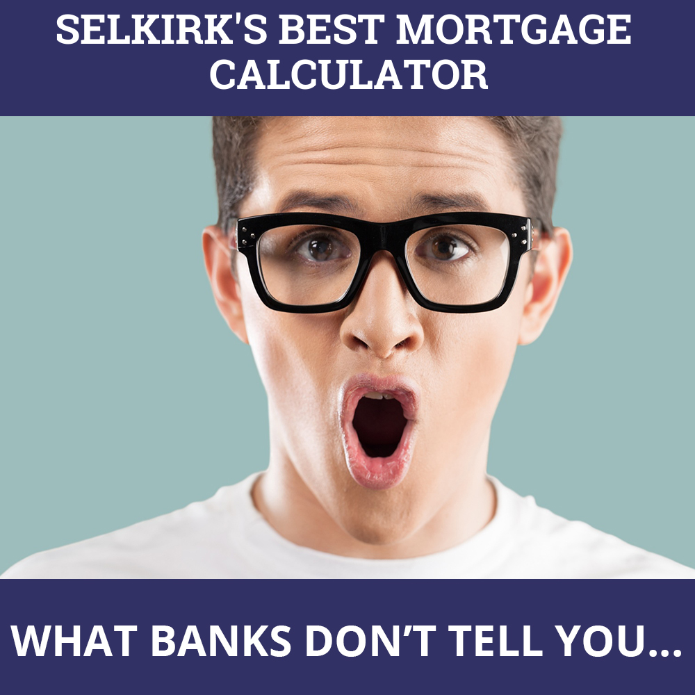 Mortgage Calculator Selkirk MB