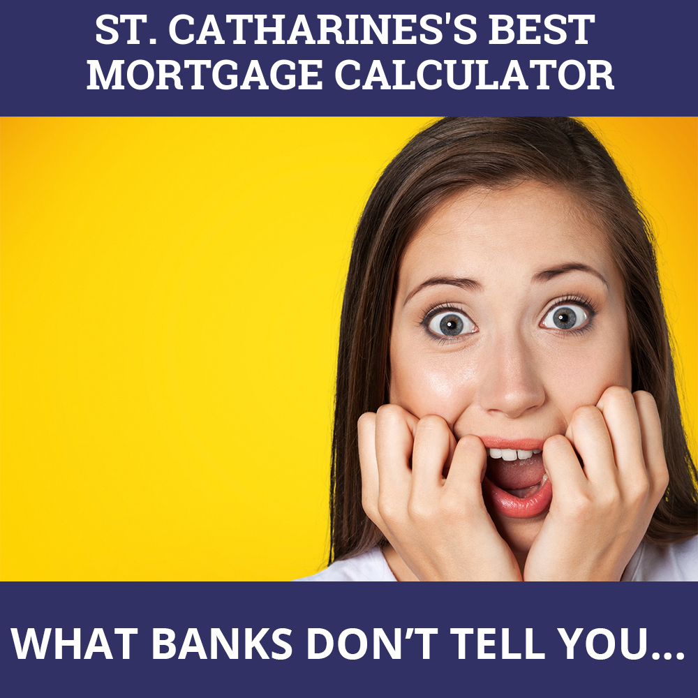Mortgage Calculator St. Catharines ON