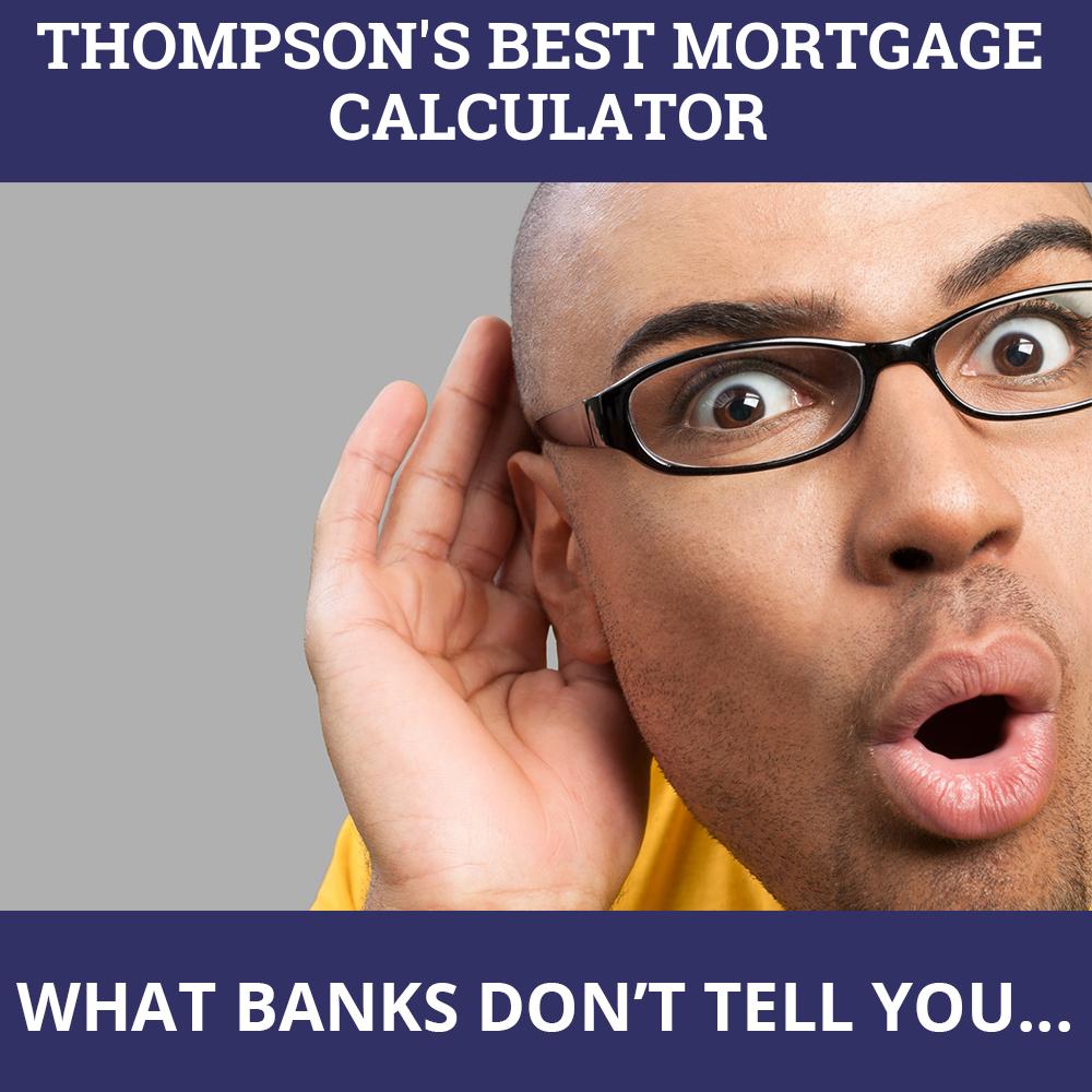 Mortgage Calculator Thompson MB