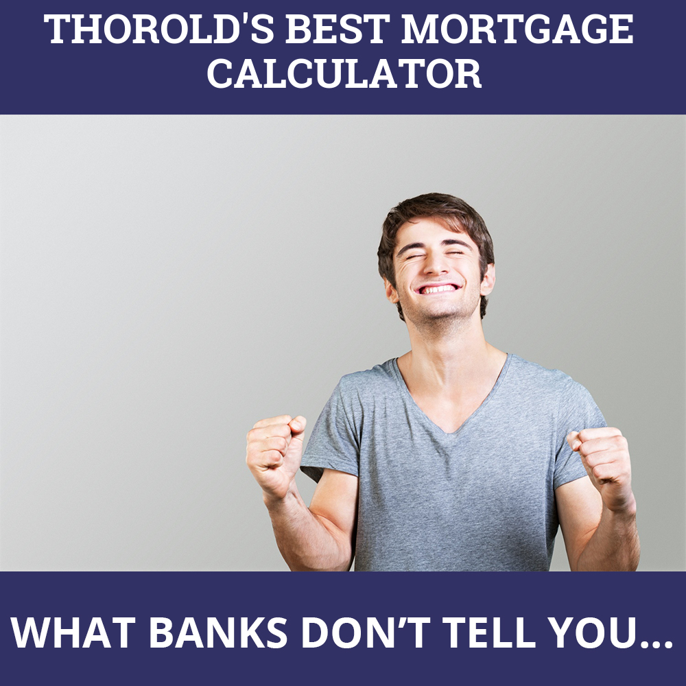 Mortgage Calculator Thorold ON