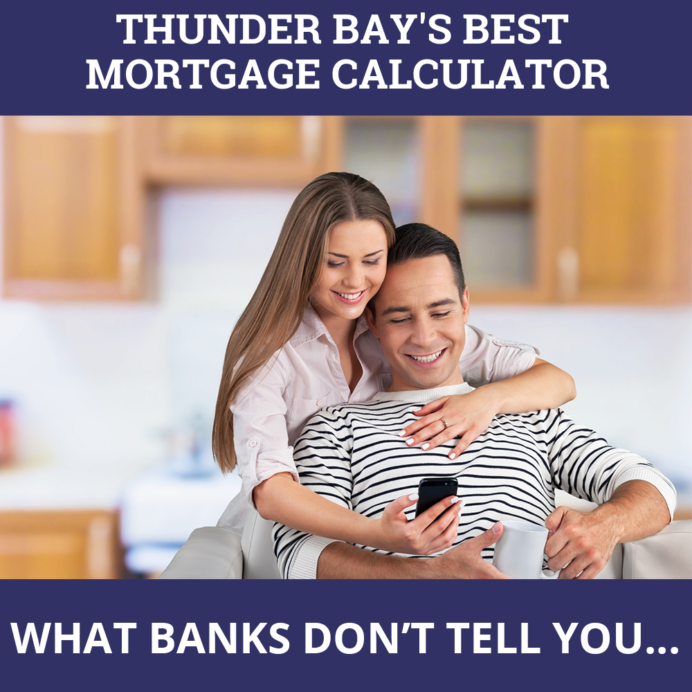 Mortgage Calculator Thunder Bay ON
