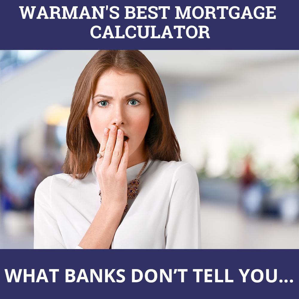 Mortgage Calculator Warman SK