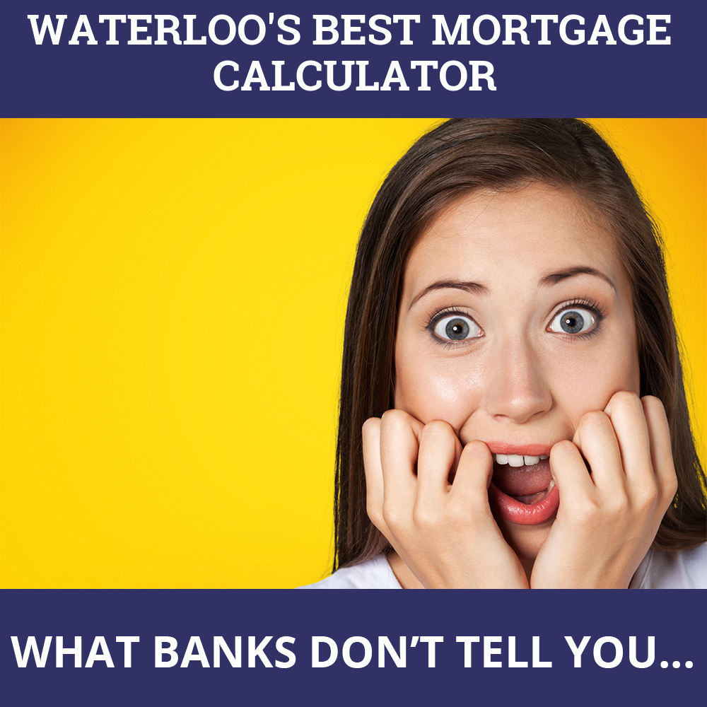 Mortgage Calculator Waterloo ON