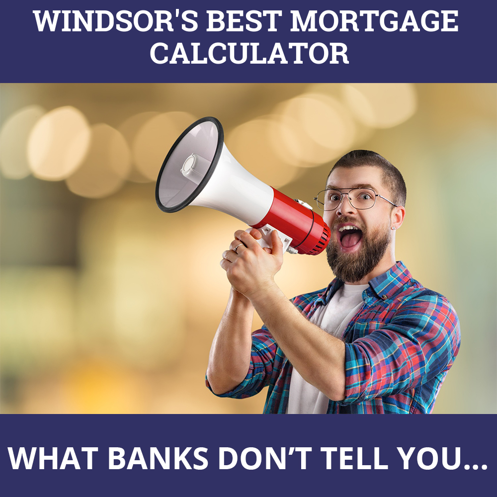 Mortgage Calculator Windsor ON