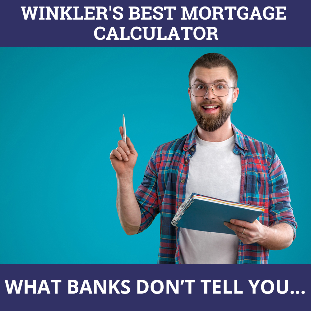 Mortgage Calculator Winkler MB