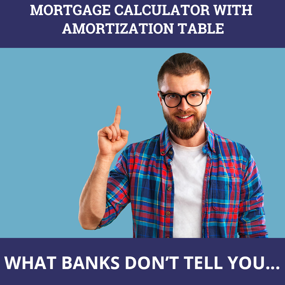 Mortgage Calculator With Amortization Table